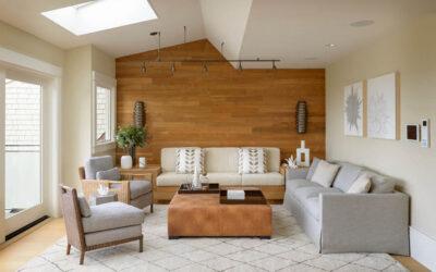 Revestimientos en madera para paredes y techos