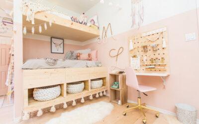 La madera puede convertirse en la gran protagonista de las habitaciones infantiles