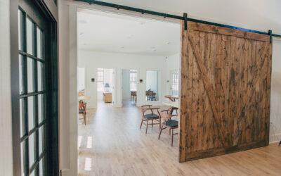 Gana espacio escogiendo puertas correderas